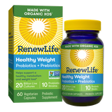 RENEW LIFE® HEALTHY WEIGHT PROBIOTICS + PREBIOTICS - Terramed.info