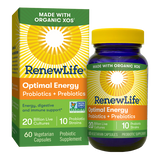 RENEW LIFE® OPTIMAL ENERGY PROBIOTICS + PREBIOTICS - Terramed.info