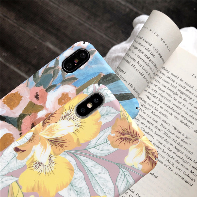 Watercolor Flowers iPhone Case