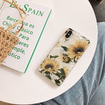 Sunflower Shell iPhone Case