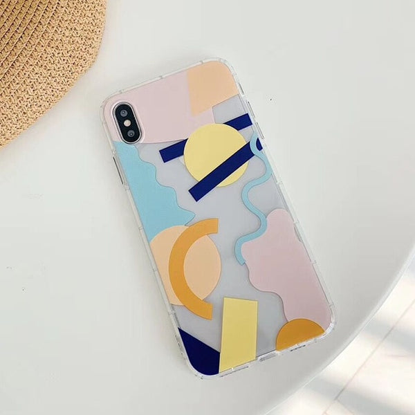 Geometric Minimalist iPhone Case