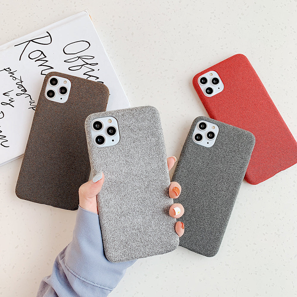 Plain Solid Color iPhone Case