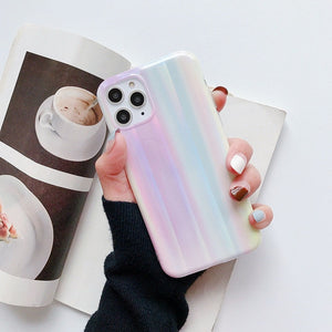 Pastel Holographic iPhone Case