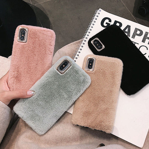 Warm Fur iPhone Case