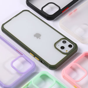 Pastel Bumper Frame iPhone Case