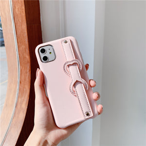 Leather Strap iPhone Case