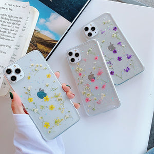 Dried Flowers iPhone Case