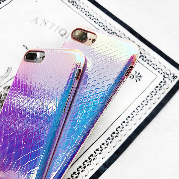 Luxury Holographic Mermaid iPhone Case