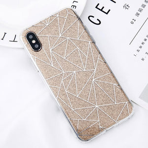 Geometric Glitter Lines - Cases - CASEALY