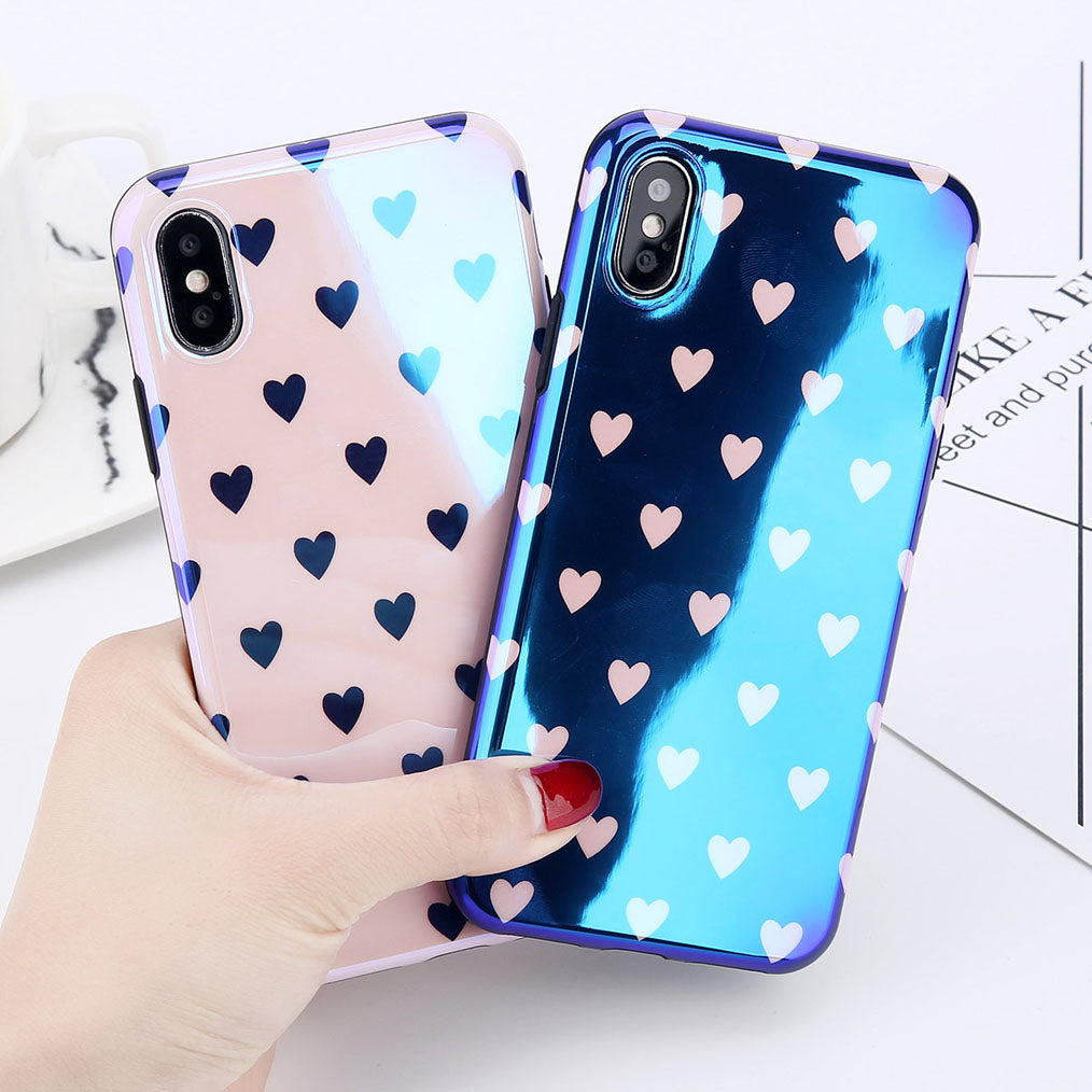 Blu-ray Laser Gradient Hearts - Cases - CASEALY