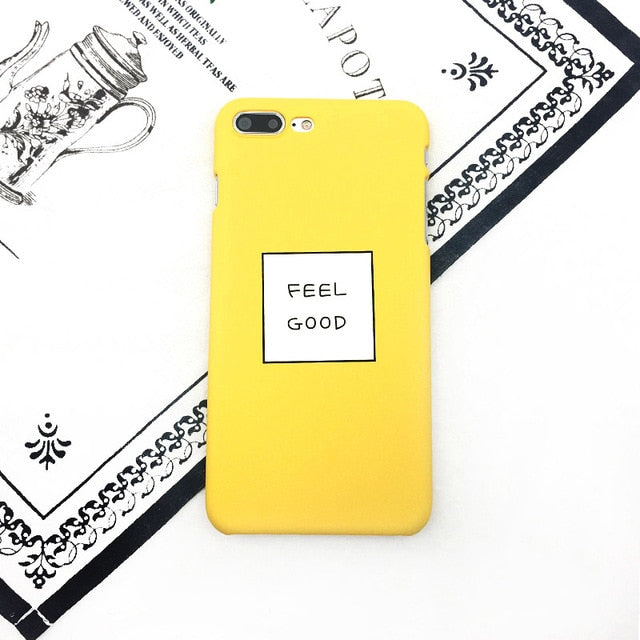 Feel Good in Yellow iPhone Case