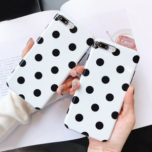 Dot Pattern iPhone Case