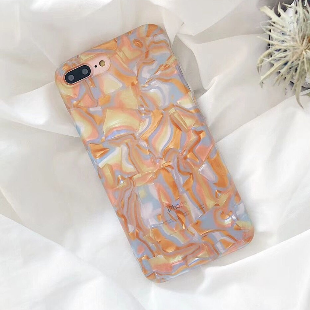 Gold Shell iPhone Case