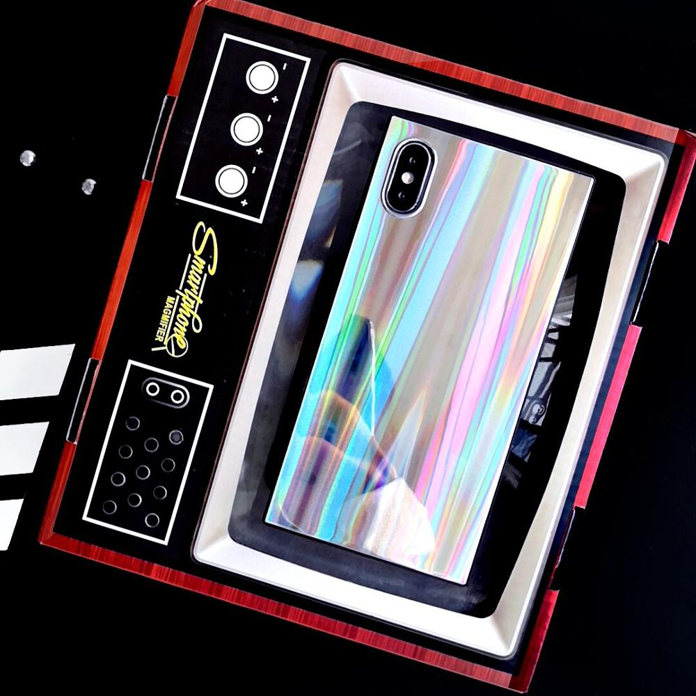 Laser Holographic Rectangular iPhone Case