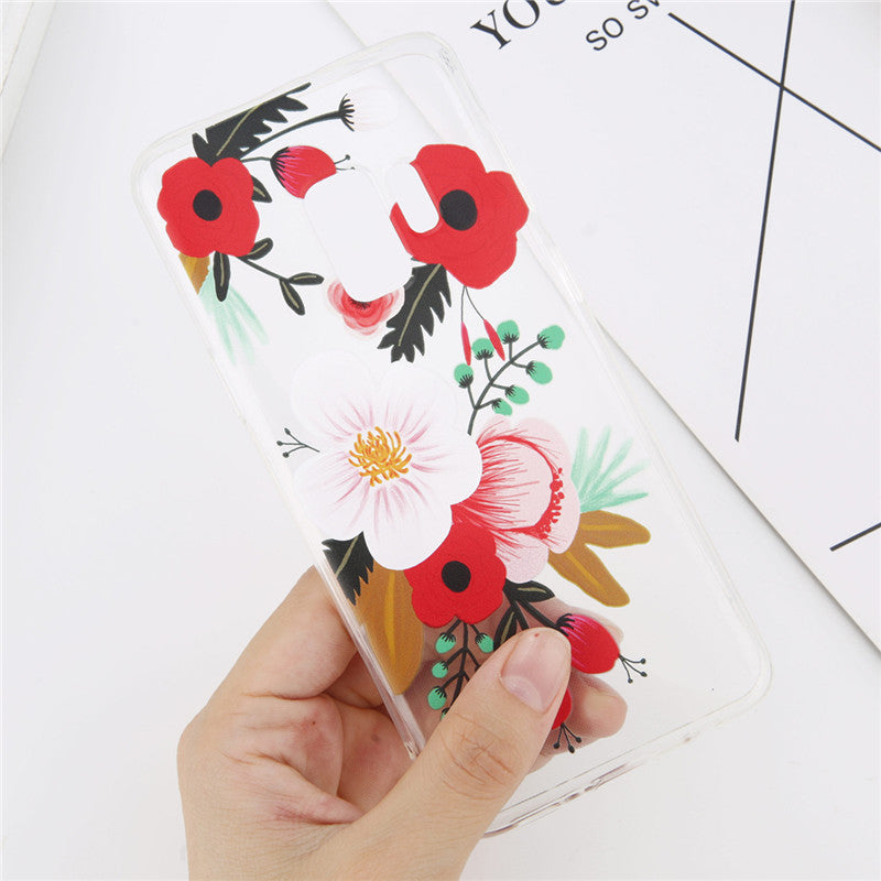 Red Flowers Print - Cases - CASEALY