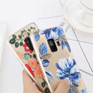 Blue Floral Pattern - Cases - CASEALY