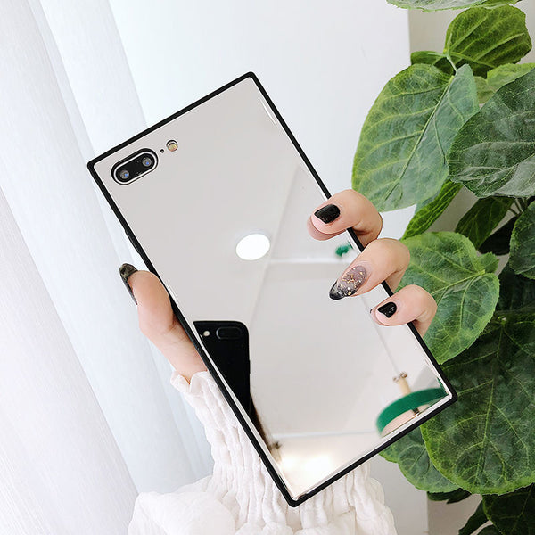 Rectangular Selfie Mirror iPhone Case
