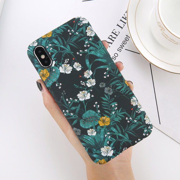 Little Flowers Pattern iPhone Case