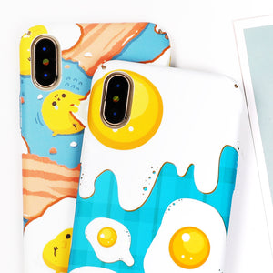 Breakfast Pattern iPhone Case