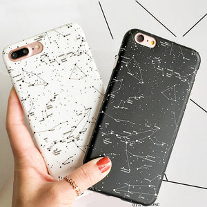 Starry Constellation Sky iPhone Case