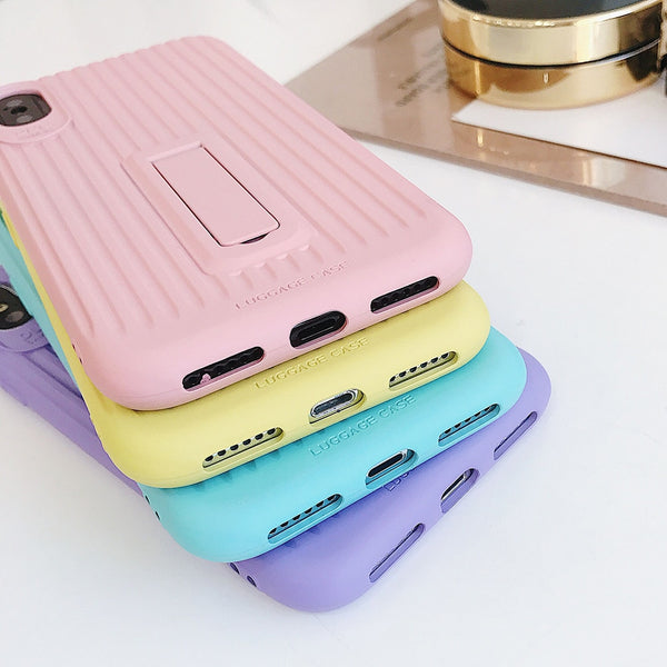 Pastel Holder Stripe iPhone Case