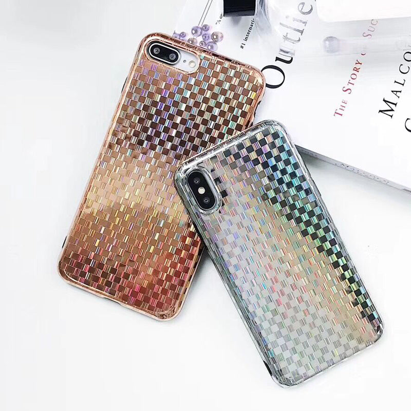 Laser Woven Pattern iPhone Case