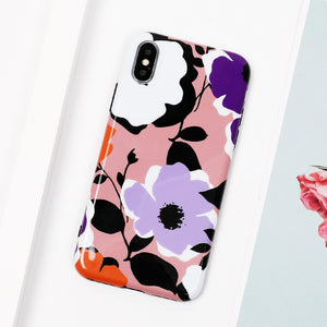 Vintage Flowers iPhone Case