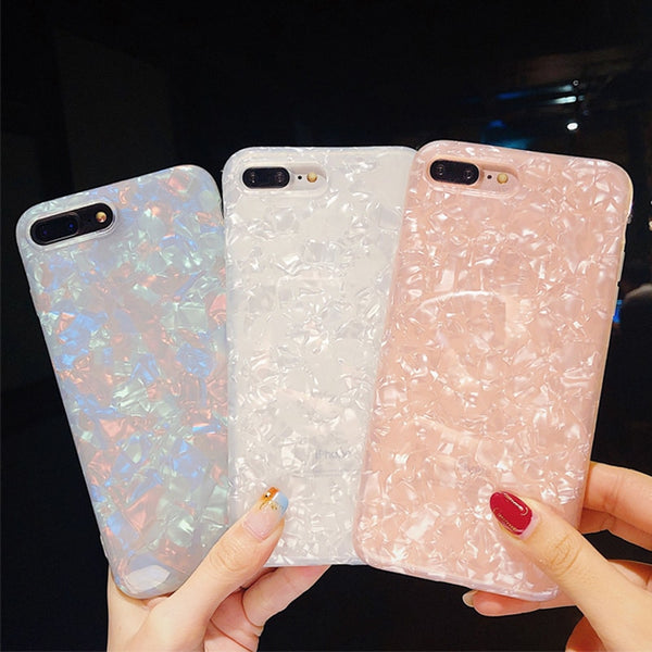Glossy Dream Shell iPhone Case
