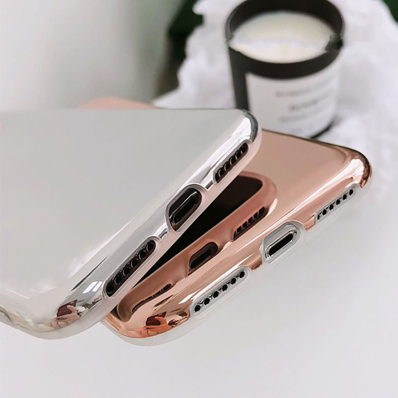 Clear Mirror iPhone Case