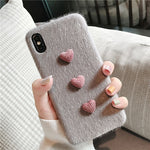 Warm Hearts iPhone Case