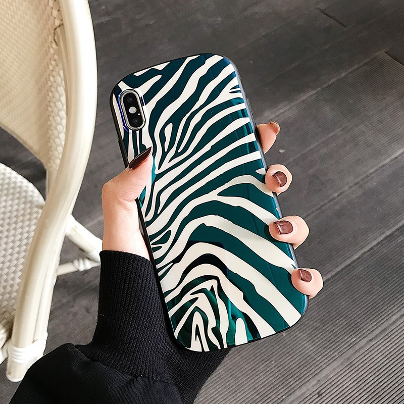 Zebra Stripes iPhone Case