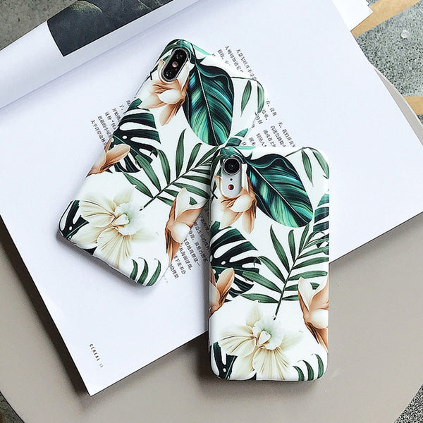 Delicate Flowers iPhone Case