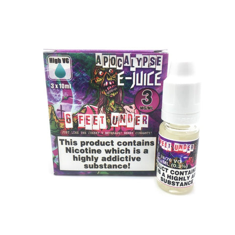 Apocalypse 6 Feet Under 3x10ml E-Liquid