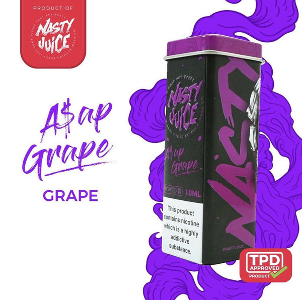 Nasty Juice ASAP Grape