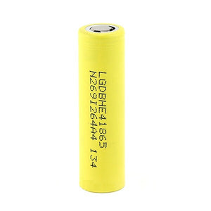 LG HE4 18650 2500MAH 20A Battery - Flap Top