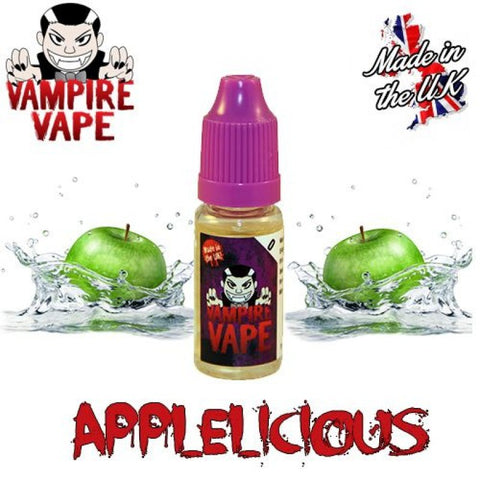 Applelicious 10ml Vampire Vape E-Liquid