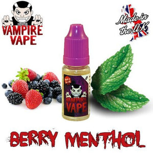 Berry Menthol 10ml Vampire Vape E-Liquid