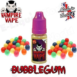 Bubblegum 10ml Vampire Vape E-Liquid