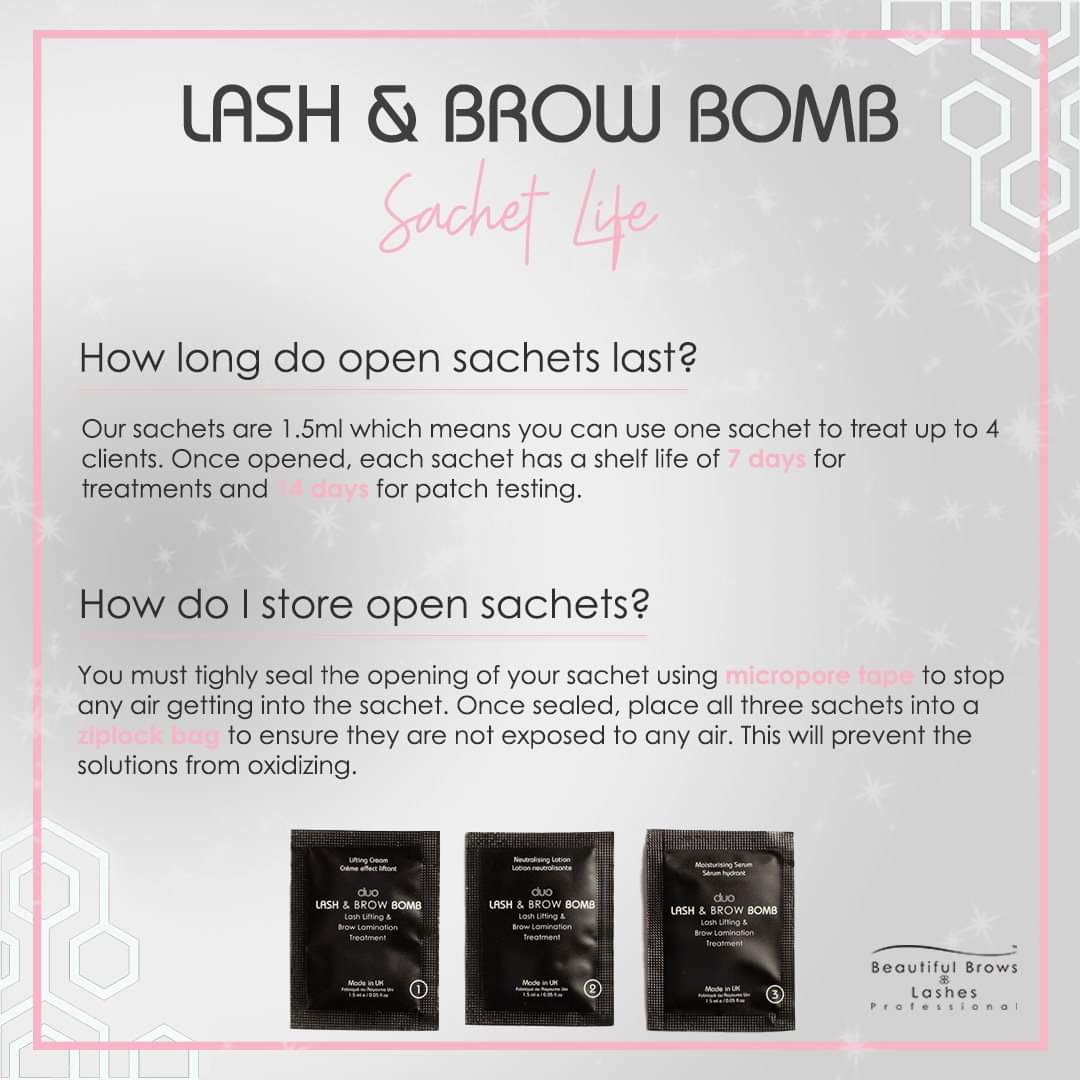 Brow Bomb Student Course -Kit options Available