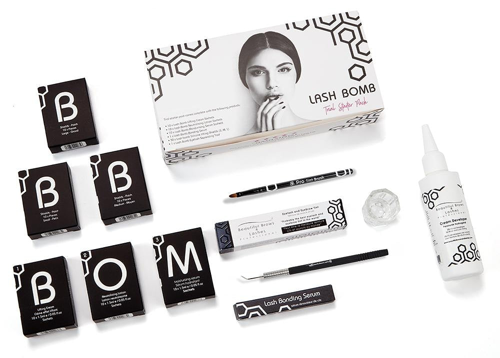 Lash/ Brow Duo Kit * E-courses available-Certificate Course