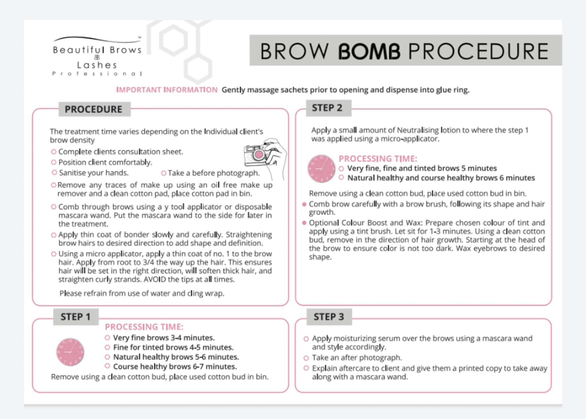 FREE Sample of BROW BOMB