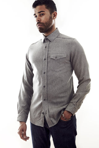 Heather Grey Winter Oxford