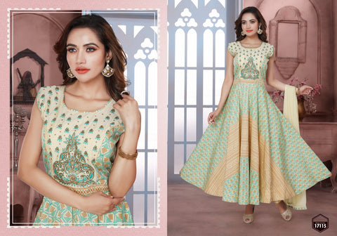 FANCY SILK SALWAR SUIT