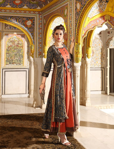 Removable Jacket Kurti