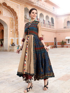 long Layered Kurti