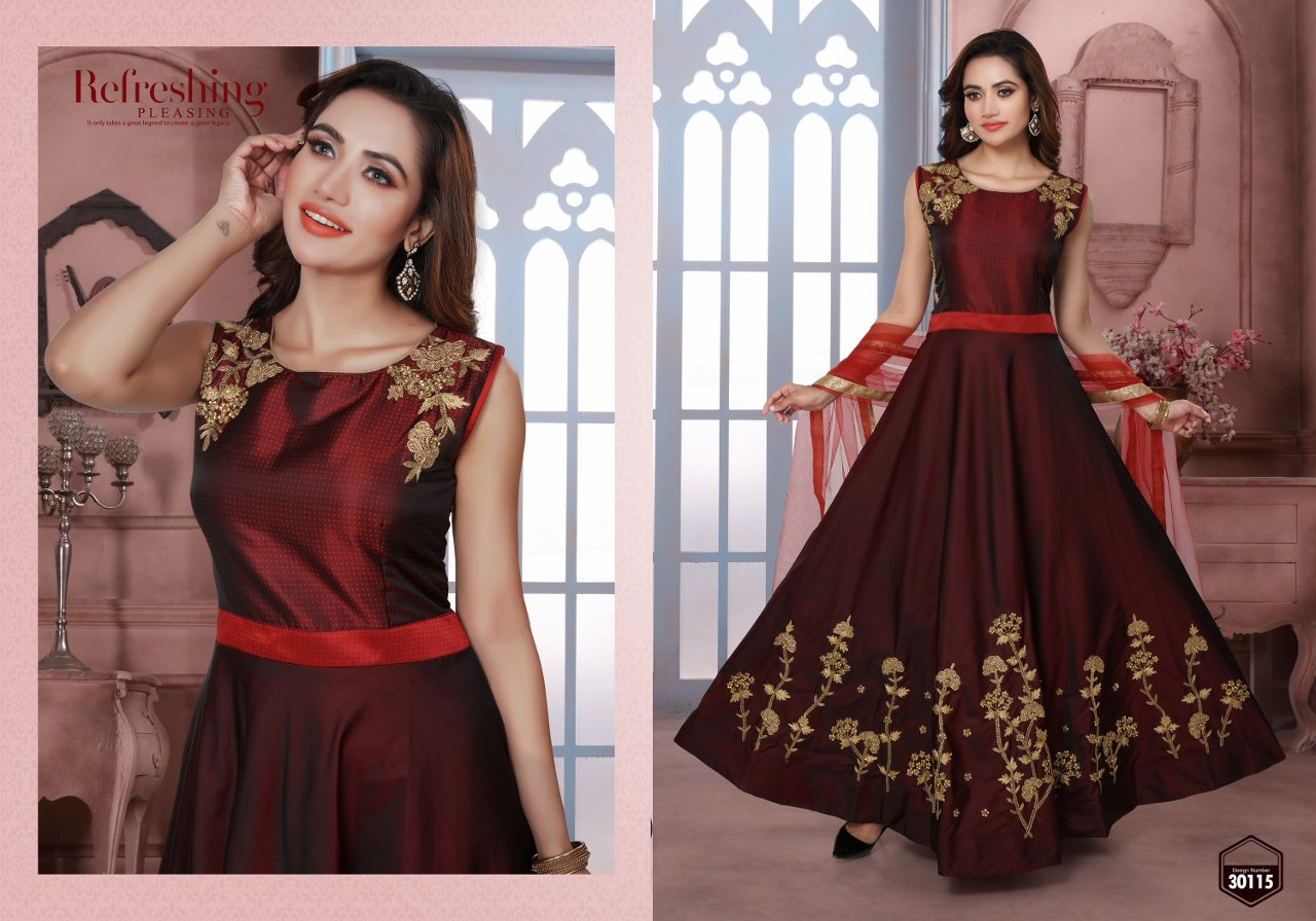 GOWN SALWAR SUIT