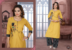 FULL SLEEVES PALLAZZO SALWAR SUIT