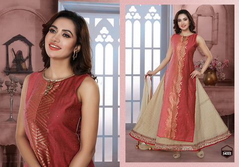 DUAL LAYERED SALWAR SUIT