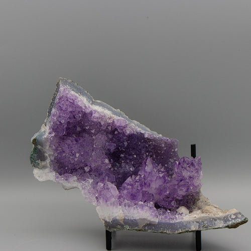 Amethyst free-form with Cluster & Calcite