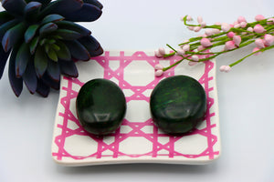 Green Jade Palm Stone